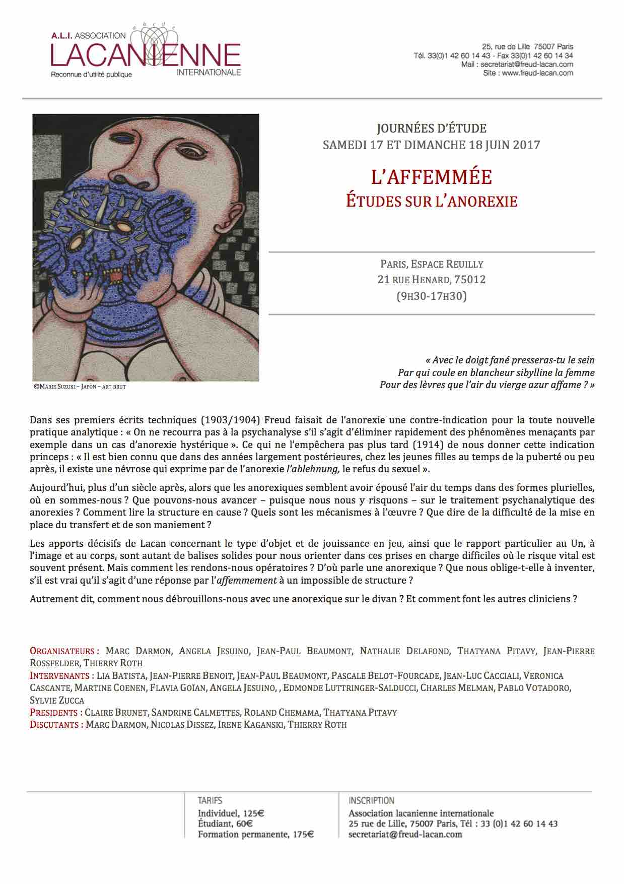 AFFICHEAnorexies0617