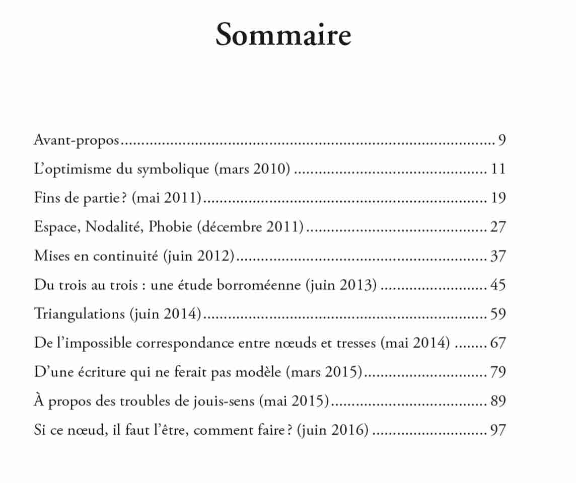 2018 06 BRINI Variations Sommaire